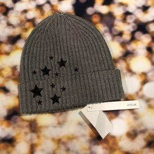 AQUA Bloomingdales Stars cap